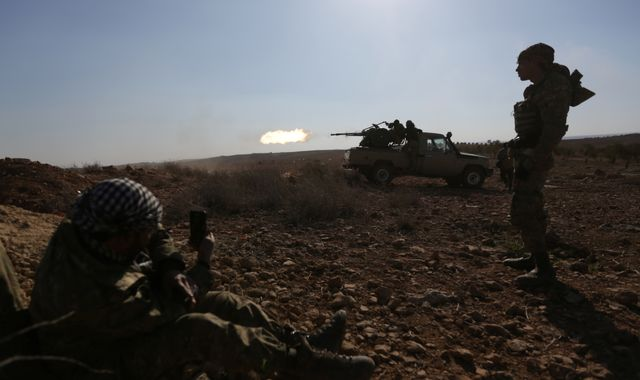 Global arms trade rises to post-Cold War high