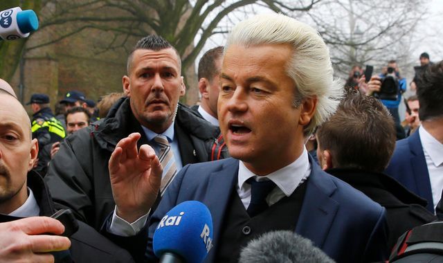 Far-right Dutch MP Geert Wilders attacks 'Moroccan scum'