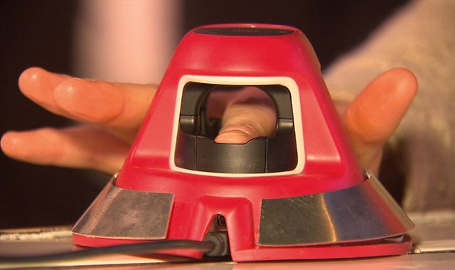 Paying for a pint with your finger: The tech that could kill off cards