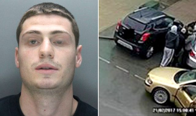 Two held over murderer Shaun Walmsley's escape