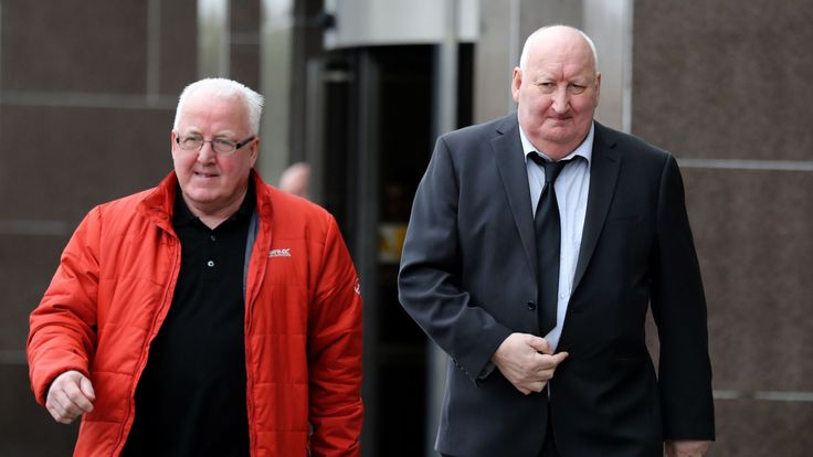 Harry Clarke arriving at Glasgow Sheriff Court on Friday