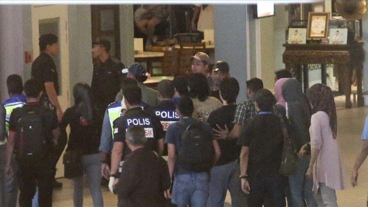 Police re-enact the murder of Kim Jong-Nam at Kuala Lumpur International Airport