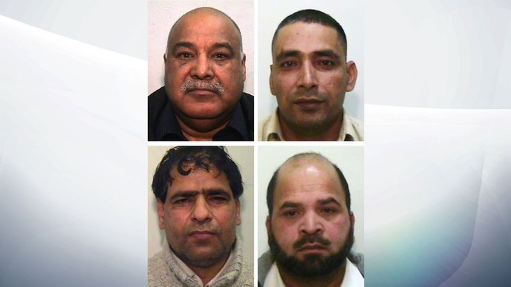 Shabir Ahmed (top left), Adil Khan (top right), Abdul Aziz (bottom left) and Qari Abdul Rauf