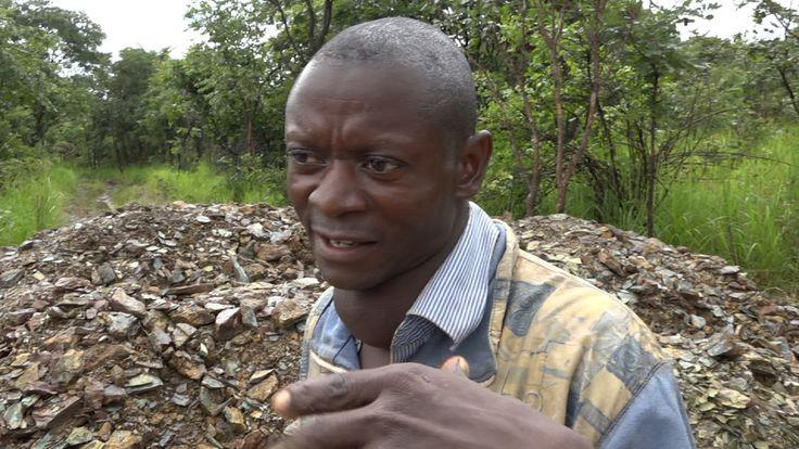 Makumba Mateba believes his tumour has grown because he drinks contaminated water