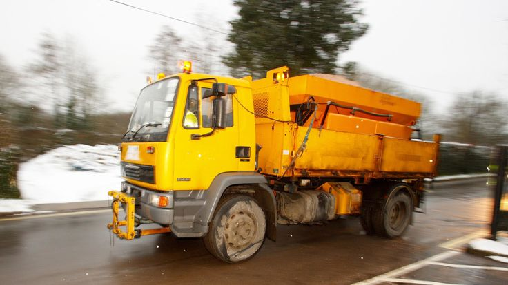 Gritter (file pic)