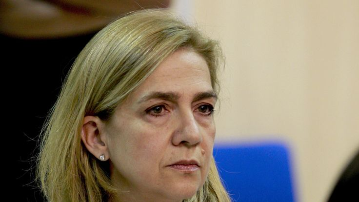 Princess Cristina is accused of tax evasion along with her husband