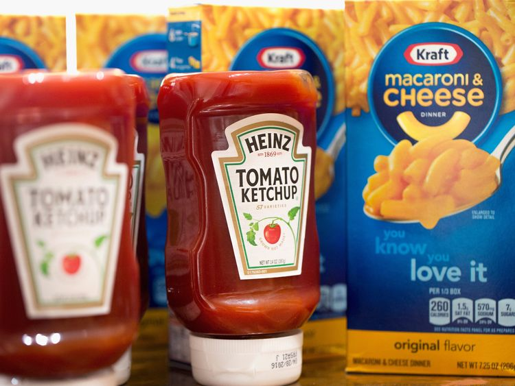 Heinz Kraft is a multinational food conglomerate