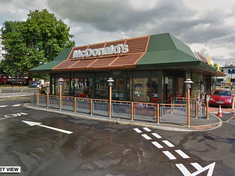 McDonald's in Poplar