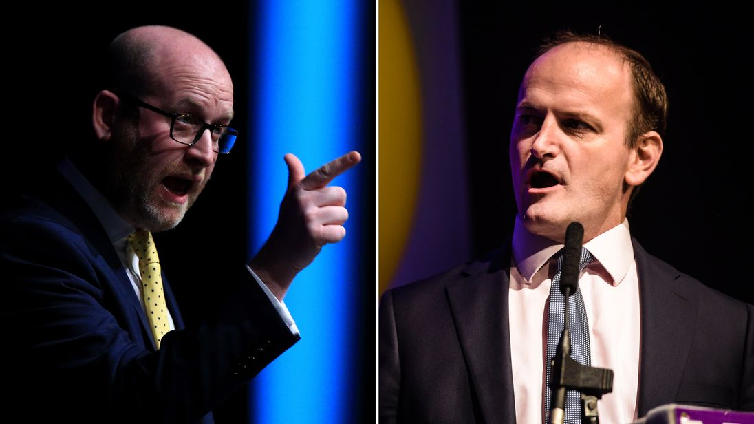 Paul Nuttall says UKIP members will 'tweet a smiley face' at news of Mr Carswell's departure