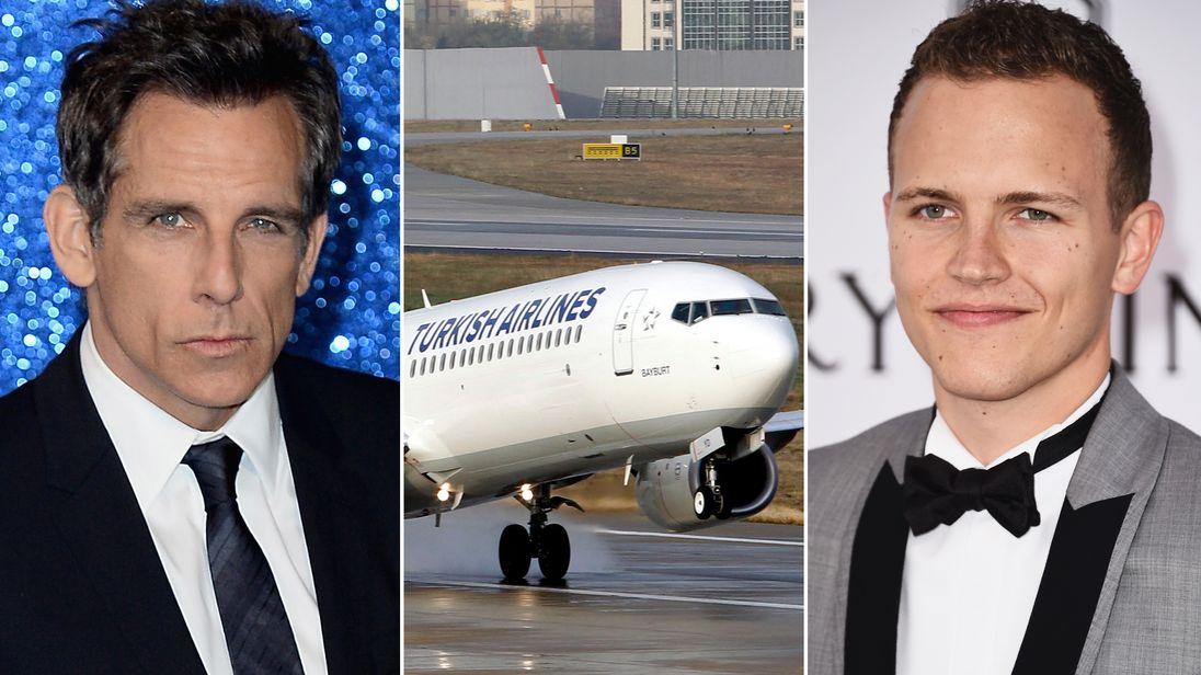 Ben Stiller, Turkish Airlines, and Jereome Jarre