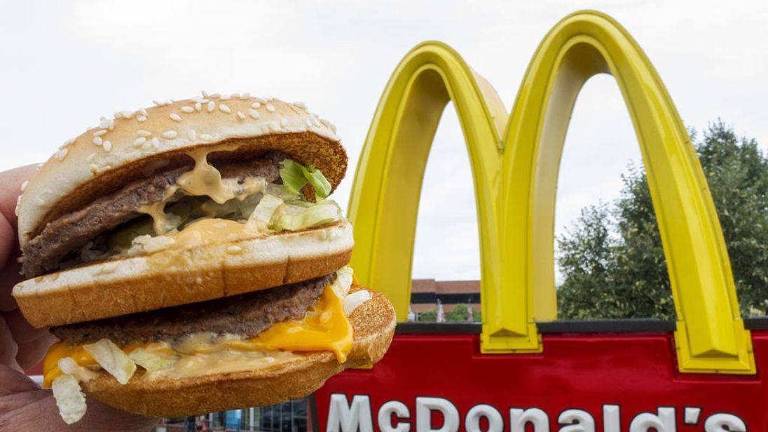 McDonald's is to launch a DELIVERY service