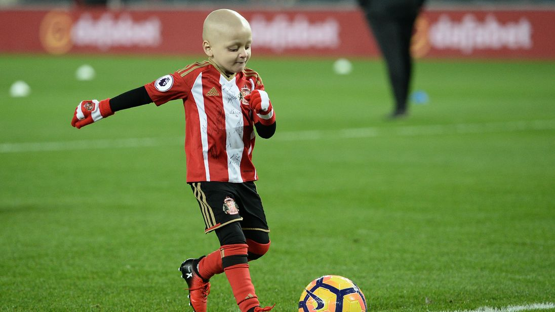 Cancer patient Bradley Lowery