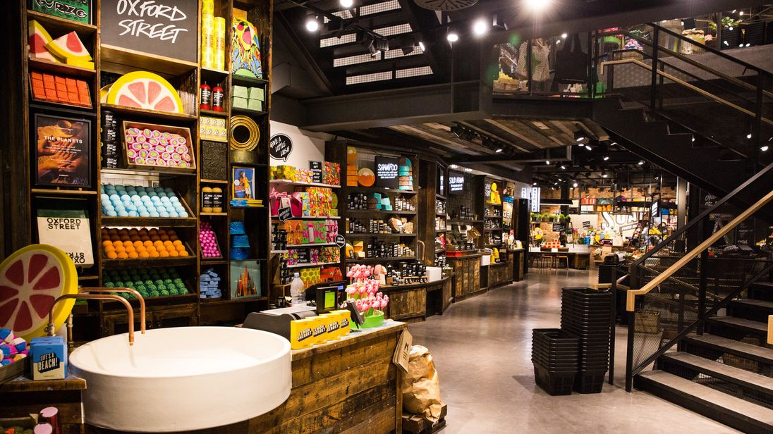 Lush has over 900 stores worldwide