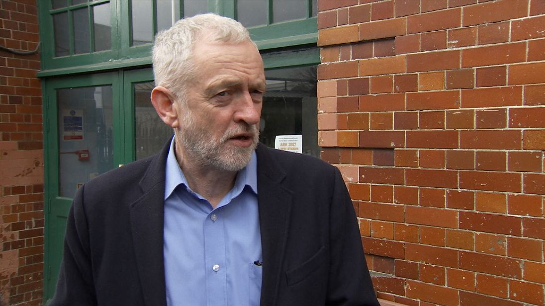 """Jeremy Corbyn says Osborne's appointment is """"ridiculous""""."""