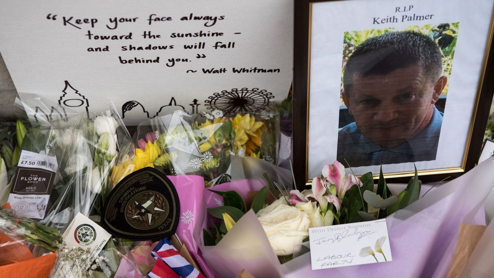 Thousands expected at funeral of PC Keith Palmer