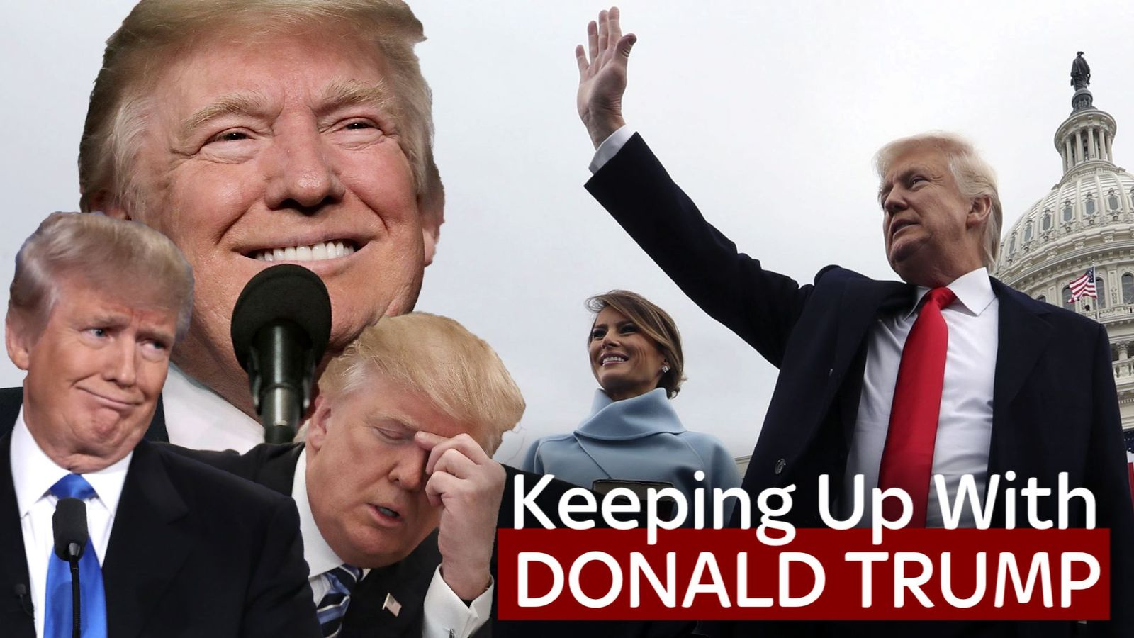 Donald Trump is the 45th President of the United States