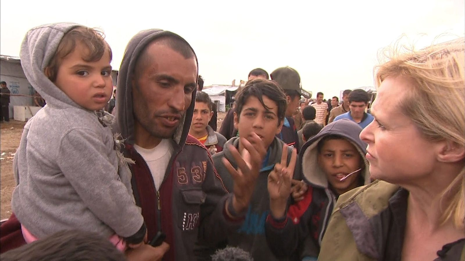 People who have fled Mosul share their stories about living under Islamic State