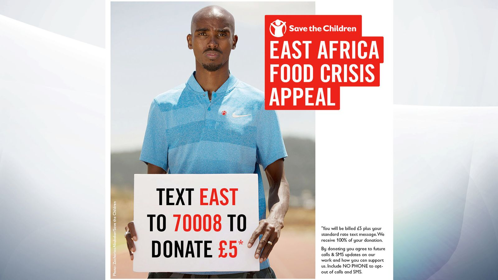 Sir Mo Farah spent his early childhood in Somalia