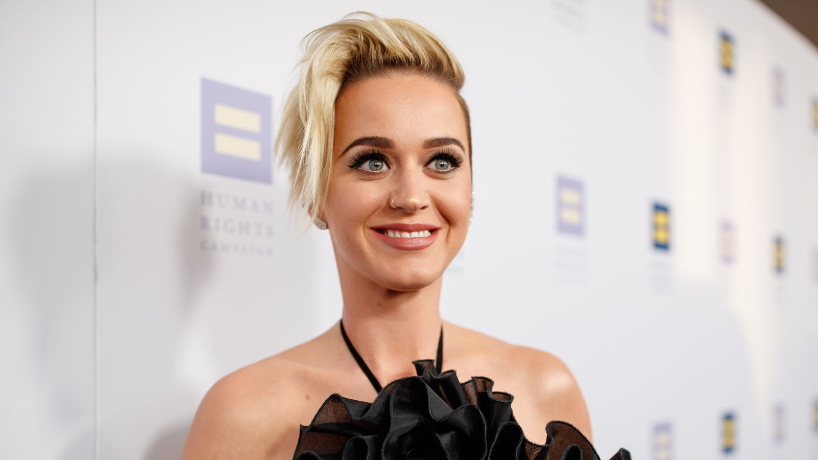 Singer Katy Perry arrives to The Human Rights Campaign 2017
