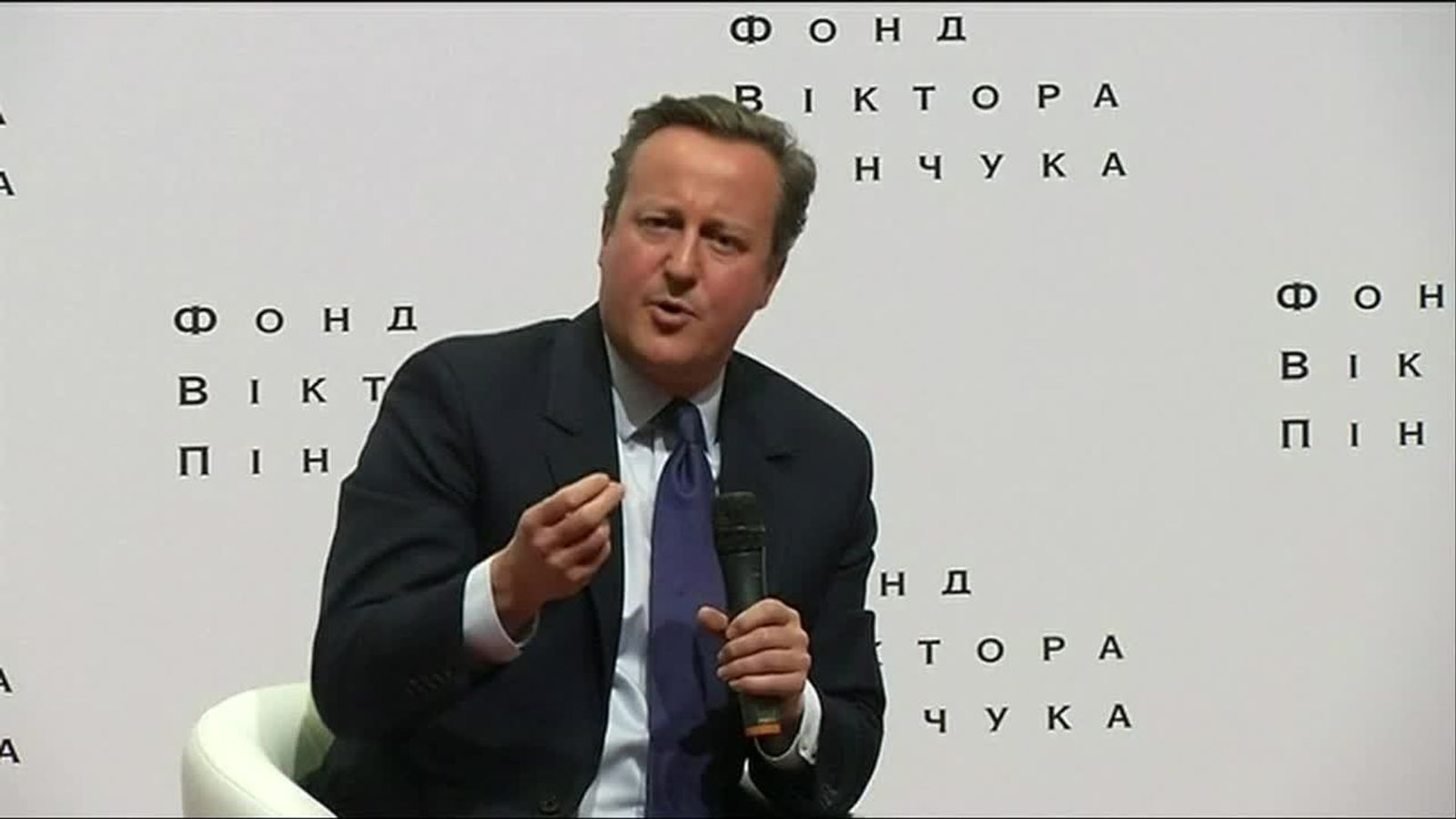 David Cameron reflects on the UK's attitudes about the European Union