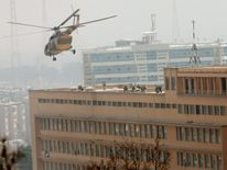 Attack on military hospital in Kabul