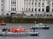 Emergency services near the scene
