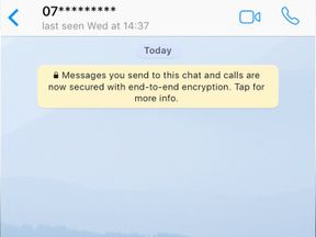 Khalid Masood Whatsapp