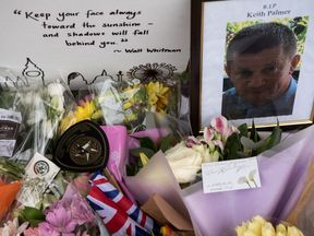PC Palmer's family thanked everyone for their generosity