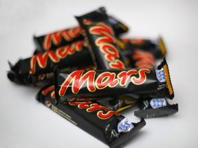 Mars bars. File picture