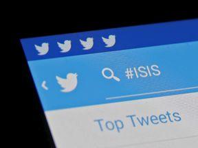 Islamic State on social media