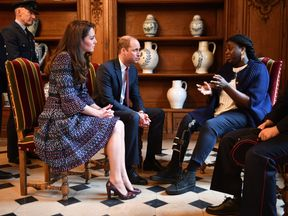 Kate and William meet survivors and and first responders from the Bataclan and Nice attacks