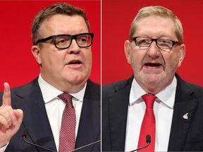 Len McCluskey has called into question Labour deputy leader Tom Watson's loyalty to Jeremy Corbyn