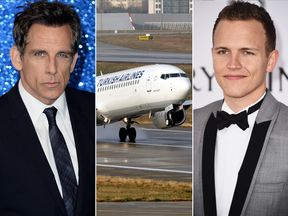 Ben Stiller, Turkish Airlines, and Jereome Jarre
