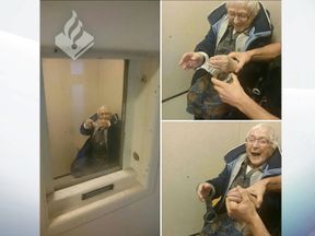 Annie, 99, has done the time without committing a crime. Pic: Politie Nijmegen-Zuid