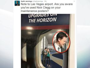 The poster advertises 'upgrades on the horizon'