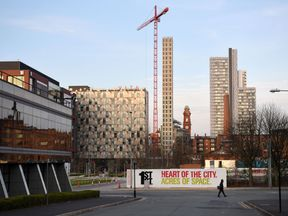 Manchester has an average house price of almost 152,000 pounds