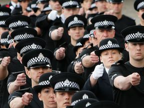 A police passing out parade