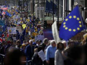 Anti-Brexit march in London