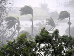 Winds of up to 160mph have been forecast