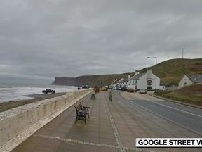 Huntcliff in Saltburn, where the bodies of two teenagers were found