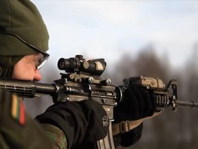 A thousand NATO soldiers have been deployed to Lithuania