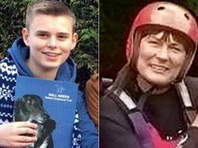 Sky sources say the victims are Piers Wilkinson and Tracey Wilkinson
