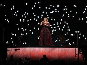 Adele performs in Sydney during her recent tour