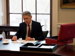 Chancellor Philip Hammond prepares for the Budget