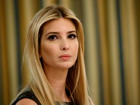President Donald Trump's daughter Ivanka