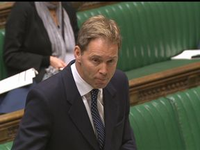 Tobias Ellwood addresses MPs in the House of Commons for the first time since the Westminster terror attack