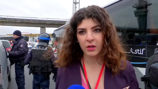 Witnesses speak after shooting at Paris Orly Airport