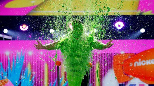 2017 Kids' Choice Awards show host John Cena gets slimed, Los Angeles
