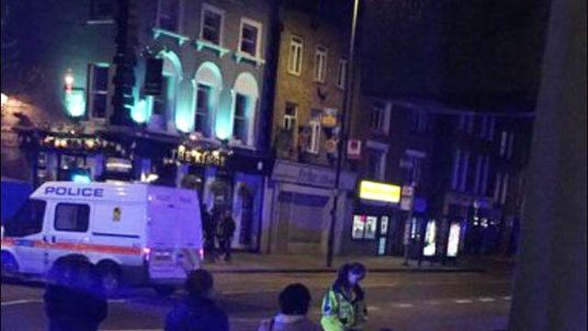 Police were called at approximately 22:55hrs on Saturday, 25 March to reports of a car in collision with a number of people in Essex Road, Islington N1.