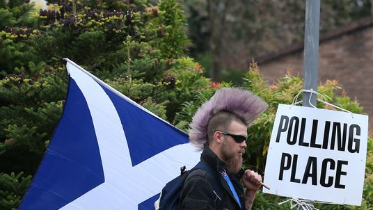 Scotland Wants Another Vote for Independence Before Brexit